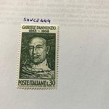 Buy Italy Gabriele D'Annunzio 1963 mnh stamps