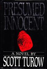 Buy Presumed Innocent A Novel By Scott Turow 1987 Hardcover Book - Good