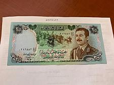 Buy Iraq 25 dinars banknote 1986