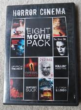 Buy Horror Cinema Eight Movie Pack! With Free Shipping!!!