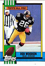 Buy Rod Woodson #179 - Steelers 1990 Topps Football Trading Card