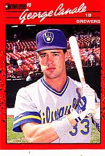 Buy George Canale #699 - Brewers 1990 Donruss Baseball Trading Card