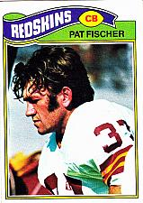 Buy Pat Fischer #409 - Redskins 1977 Topps Football Trading Card