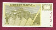 Buy Slovenia 1 Tolar 1990 Banknote AU90879726 Historic Eastern Bloc Note!