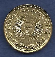 Buy Argentina 10 Pesos 1977 Coin
