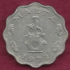 Buy MALTA 5 Mils 1972 Coin