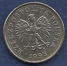 Buy POLAND 1 Zloty 1993 Coin