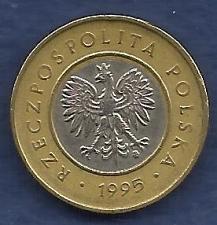 Buy POLAND 2 Zloty 1995 Coin - Bi-Metal