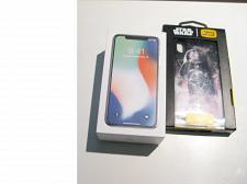 Buy Very Good 64gb Silver Sprint Iphone X A1865 Bundle