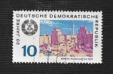 Buy Germany DDR Used Scott #1140 Catalog Value $.25