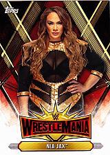 Buy Nia Jax #WM-13 - WWE Topps 2019 Wrestling Trading Card