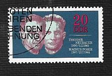 Buy Germany DDR Used Scott #1230 Catalog Value $.25
