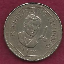 Buy PHILIPINES 1 Peso 1975 Coin - Jose Rizal