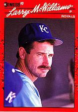 Buy Larry McWilliams #709 - Royals 1990 Donruss Baseball Trading Card
