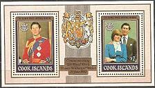 Buy [CK0680] Cook Islands: Sc. no. 680a (1982) MNH SS