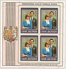 Buy [CKB098] Cook Islands: Sc. no. B98 (1981) MNH SS