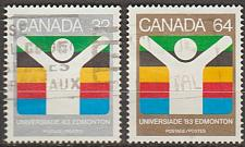 Buy [CA0981] Canada: Sc. no. 981-982 (1983) Used Full Set