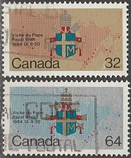 Buy [CA1030] Canada: Sc. no. 1030-1031 (1984) Used Full Set