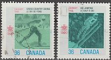Buy [CA1152] Canada: Sc. no. 1152-1153 (1987) Used Full Set