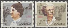 Buy [CA1047] Canada: Sc. no. 1047-1048 (1987) Used Full Set