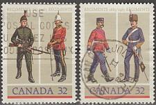 Buy [CA1007] Canada: Sc. no. 1007-1008 (1983) Used Full Set