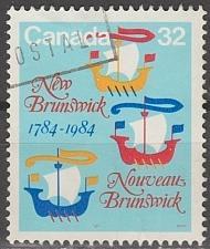 Buy [CA1014] Canada: Sc. no. 1014 (1984) Used Single