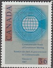 Buy [CA1147] Canada: Sc. no. 1147 (1987) Used Single