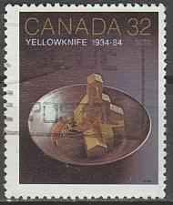 Buy [CA1009] Canada: Sc. no. 1009 (1984) Used Single