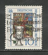 Buy German DDR Used Scott #719 Catalog Value $.25