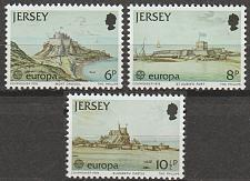 Buy [JR0187] Jersey: Sc. no. 187-189 (1978) MNH Full Set