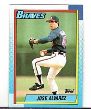 Buy 1990 Jose Alvarez RHP Braves Topps Card 782