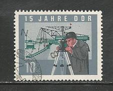 Buy German DDR Used Scott #726 Catalog Value $.30