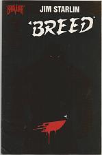 Buy Jim Starlin BREED #1 Bravura Full Color 1994 pretty slick grat art