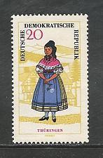 Buy German DDR Hinged Scott #744 Catalog Value $1.45