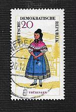 Buy German DDR Used Scott #744 Catalog Value $.90