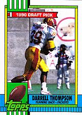 Buy Darrell Thompson #155 - Packers 1990 RC Topps Football Trading Card