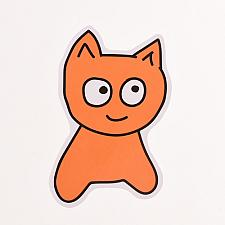 Buy Custom Stickers No Minimum | Meow Die Cut Stickers | Customsticker.com ™