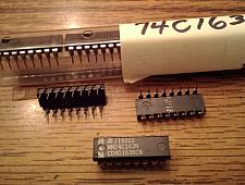 Buy Lot of 8: National Semiconductor MM74C163N