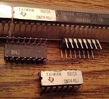 Buy Lot of 14: Texas Instruments SN7445J