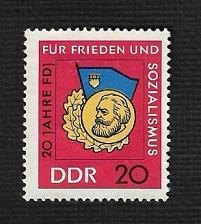 Buy German DDR Hinged NG Scott #820 Catalog Value $.40