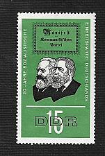 Buy German DDR Hinged NG Scott #827 Catalog Value $.25