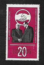 Buy German DDR Hinged NG Scott #828 Catalog Value $.25