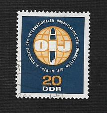 Buy German DDR Used Scott #858 Catalog Value $.25