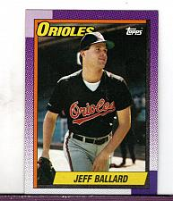 Buy 1990 Jeff Ballard LHP Cardinals Topps Card 296