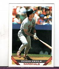 Buy 1993 Todd Zeile 3B Cardinals Topps Card 428