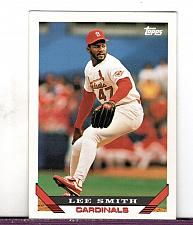 Buy 1993 Lee Smith RHP Cardinals Topps Card 12