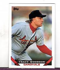 Buy 1993 Tracy Woodson 3B Cardinals Topps Card 457