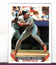 Buy 1993 Bernard Gilkey OF Cardinals Topps Card 203