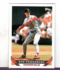 Buy 1993 Bob Tewksbury RHP Cardinals Topps Card 285