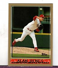 Buy 1998 Alan Benes RHP Cardinals Topps Card 387